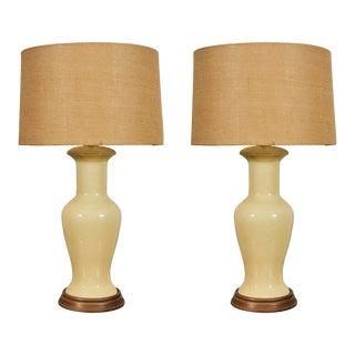 Mid-Century Ceramic Lamps