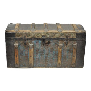Victorian Dome Top Steamer Trunk