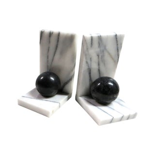 Italian Marble Bookends