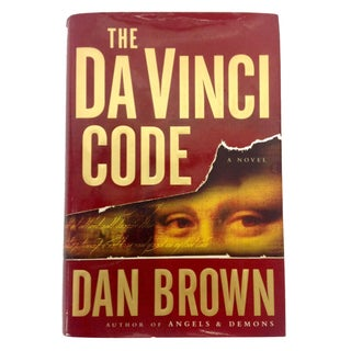 "First Edition ""The Da Vinci Code"" Book"