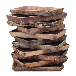 Sarreid Ltd. Pine Wood Tray