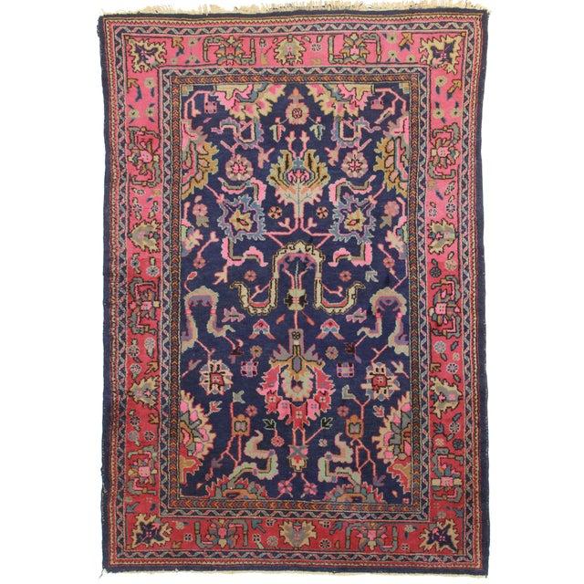 RugsinDallas Vintage Wool Turkish Sparta Oushak Rug - 5′10″ × 8′10″ - Image 1 of 2