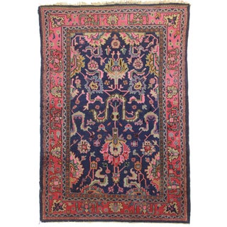 RugsinDallas Vintage Wool Turkish Sparta Oushak Rug - 5′10″ × 8′10″