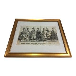 1879 Demorest's Promenade Costumes Spread