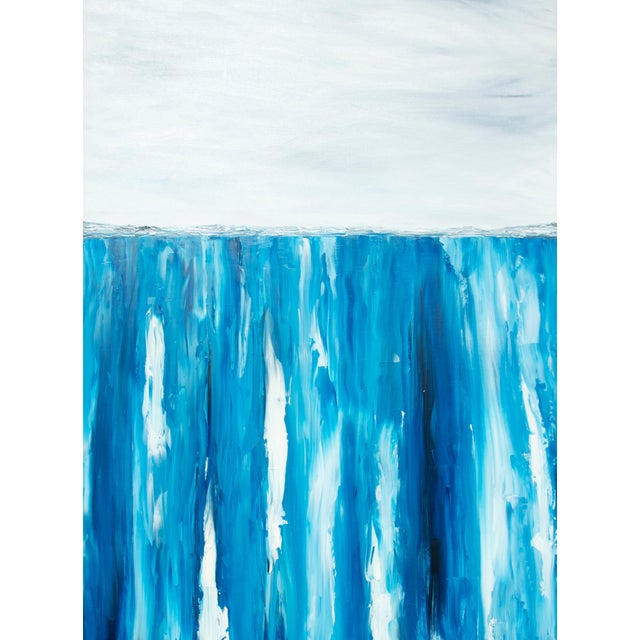 XL Seascape Abstract Oil Painting on Canvas - Image 1 of 3