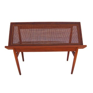 Rare Danish Teak Modern Book Rack
