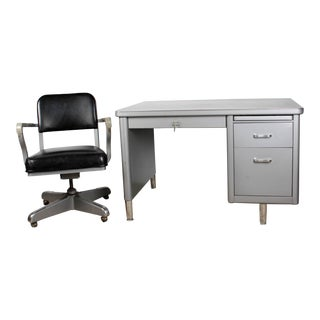 Steelcase Mini-Tanker Desk & Chair Set