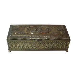 Brass Embossed Box