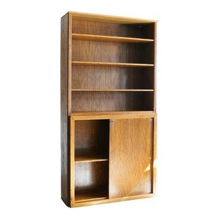 Vintage Modern Oak Cabinet
