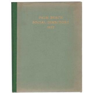 Palm Beach Social Directory: 1927