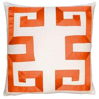 Empire Birch Bittersweet Ribbon Pillow