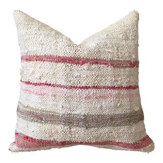 Cream & Blush Moroccan Pillow Cover