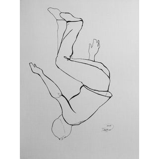 """Topsy Turvy"" Ink Drawing"