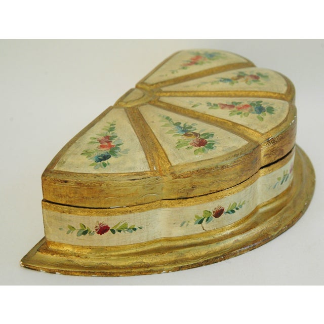 1940s Italian Florentine Jewelry Box - Image 6 of 7