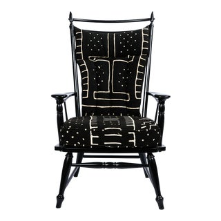 Vintage Black Windsor Chair