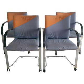 Fritz Hansen Color Block Chairs - Set of 4