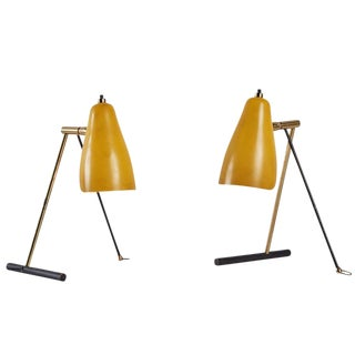 Pair of Table or Wall Lamps by Stilnovo
