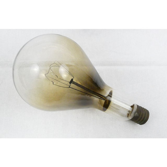 Huge Vintage Industrial Edison Light Bulb