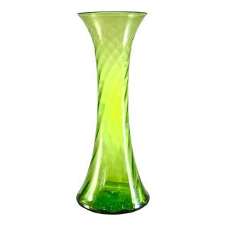 Joel Myers Blenko Mid-Century Floor Vase