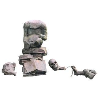 Klaus Weber Puzzle Monkey Sculpture