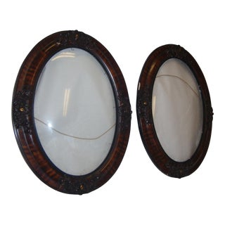 Victorian Oval Frames - A Pair