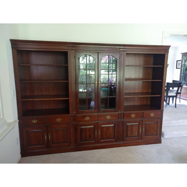 Pennsylvania House Bookcase Wall Unit - 3 Pieces - Image 2 of 10