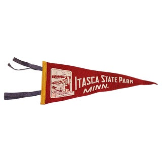 Itasca State Park Pennant