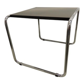 Marcel Breuer Tubular Steel Side Table