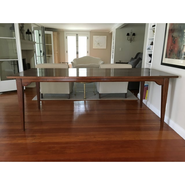 Traditional Solid Wood Dining Table - Image 2 of 5