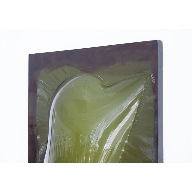 Image of Niel Fiertel Vacuum Molded Plexi Wall Sculpture