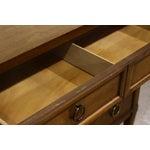 Image of Sligh Eight-Drawer Wooden Dresser