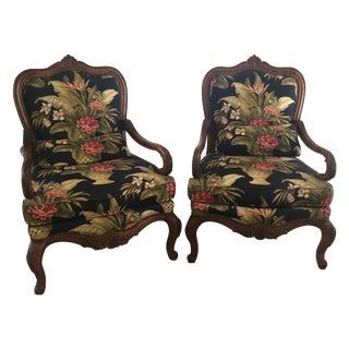 Thomasville Custom Louis XV Chairs - A Pair
