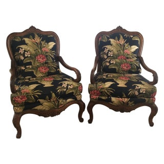 Thomasville Custom Louis XV Chairs - A Pair