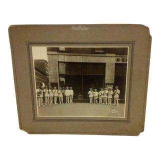 "Vintage ""S.S. Leviathan Steamship Liner Band"" Photograph"