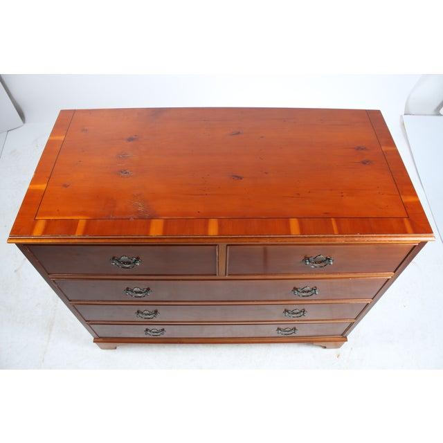 1920s Yellow Pine Dresser - Image 4 of 6