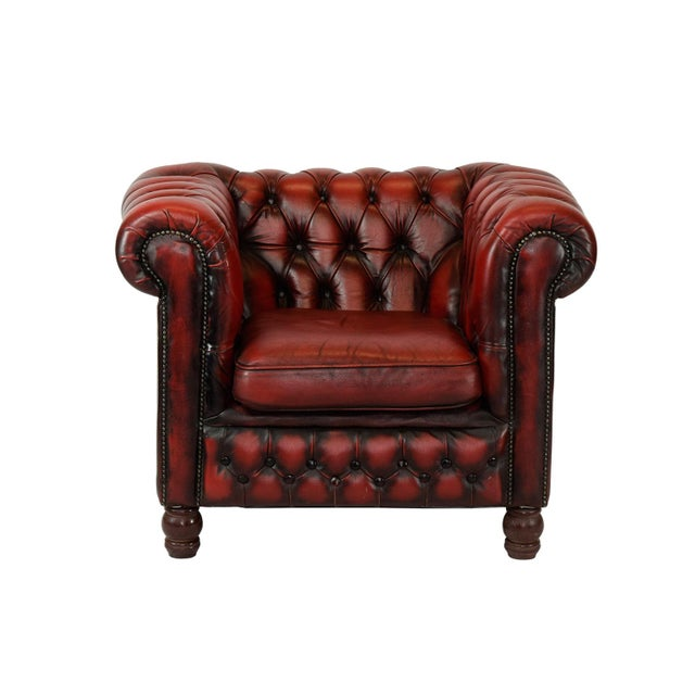 1970's Tufted Club Chair - Image 2 of 4