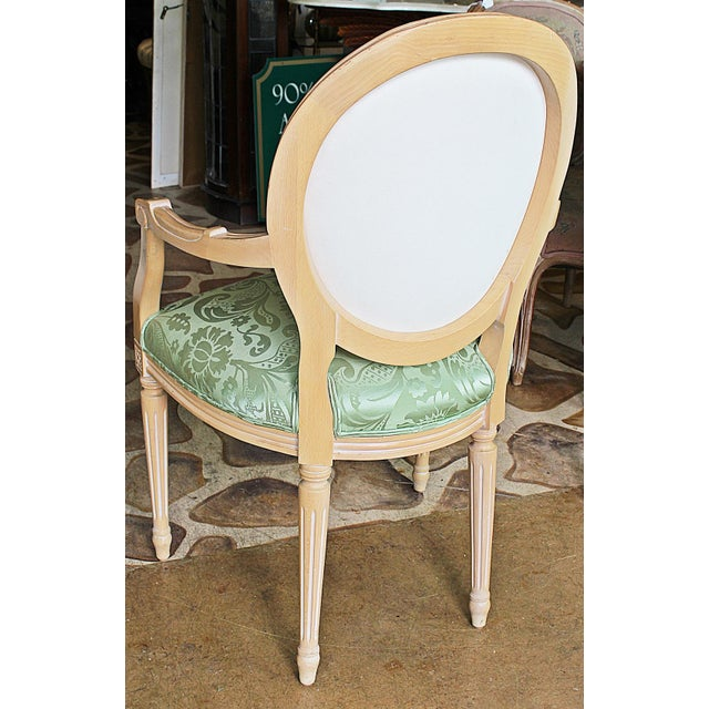 Image of French Cameo-Back Dining Chairs - Set of 8
