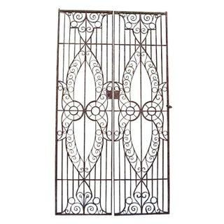 19th C. Egyptian Iron Gates - A Pair