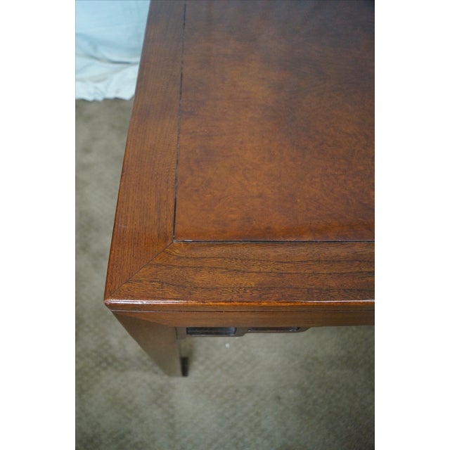 Baker Far East Collection Mahogany Dining Table - Image 9 of 10