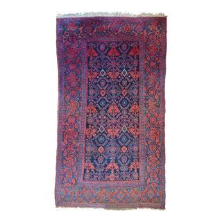 """Antique Persian Bidjar Rug - 4' X 6'9"""""""