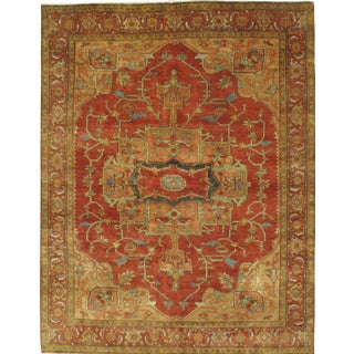Pasargad N Y Indo Hand-Knotted Serapi Rug - 8' X 10'