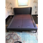 Image of Christian Liaigre for Holly Hunt Leather Platform Bed