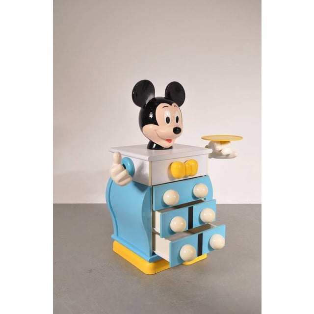 Mickey Mouse Cabinet by Pierre Colleu for Starform, France, circa 1980 - Image 5 of 9