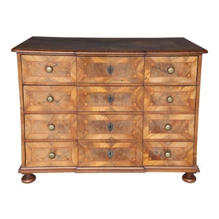 18th Century Walnut Chest or Commode