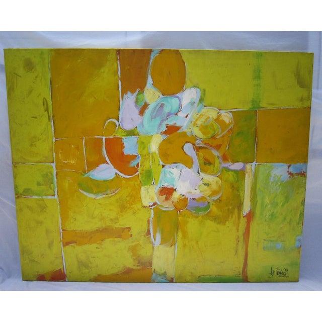 Black Flower Watercolor Art By Tae Lee: Lee Reynolds Citrus Flowers Painting