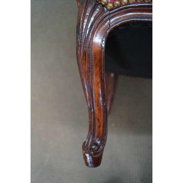 French Louis XV Style Bergere Chairs - A Pair - Image 10 of 10