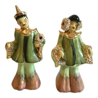 Mid-Century Asian Figures - A Pair