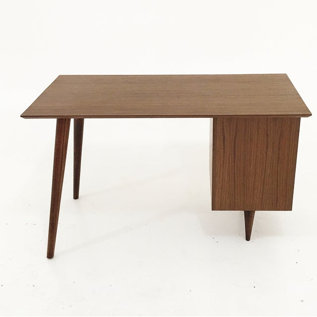 Mid Century Style Desk - Image 4 of 5