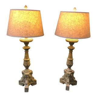 Aiden Gray Table Lamps - a Pair