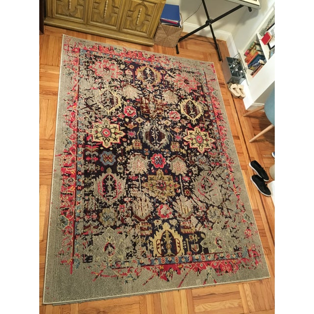 "Solum Grey Area Rug - 6'7"" X 9'2"" - Image 6 of 6"